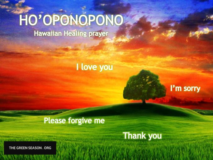 Hoponopono blog